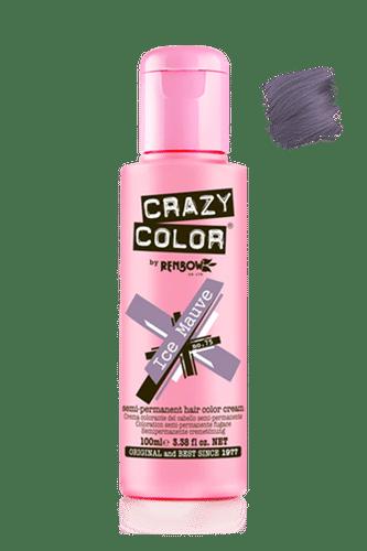 Crazy Color Semi Permanent Hair Color Cream - Ice Mauve