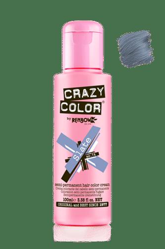 Crazy Color Semi Permanent Hair Color Cream - Slate