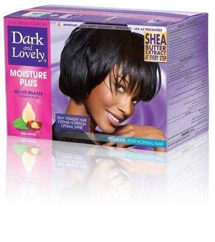 Dark and Lovely Moisture Plus No Lye Relaxer - Regular