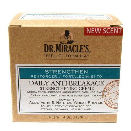 Dr Miracles Daily Anti Breakage Strengthening Créme - 4oz