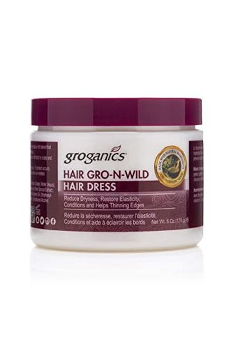 Groganics Hair Gro-n-wild Hair Dress - 6oz