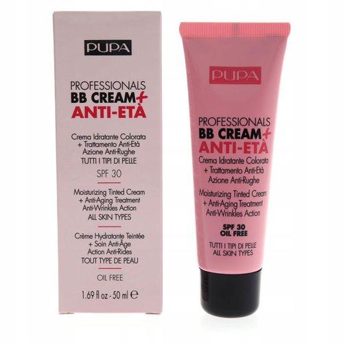 Pupa Professionals Oil Free BB Cream + Anti Eta SPF30 50ml - 001 Nude