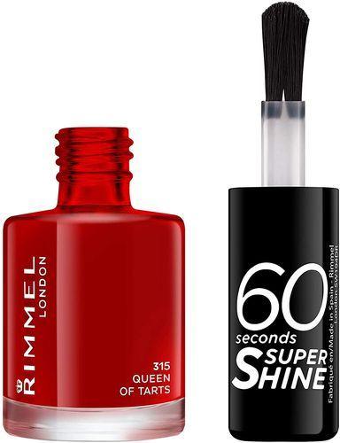 Rimmel 60 Seconds Super Shine Nail Polish 8ml - 315 Queen Of Tarts