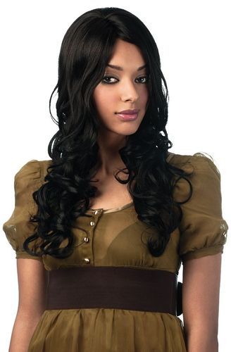 Sleek Synthetic Wig Angelina - Jet Black