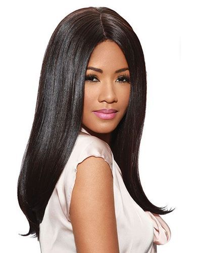 Sleek Fashion Idol 101 Wig   Iman - Jet Black