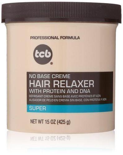 TCB No Base Creme Hair Relaxer - Super