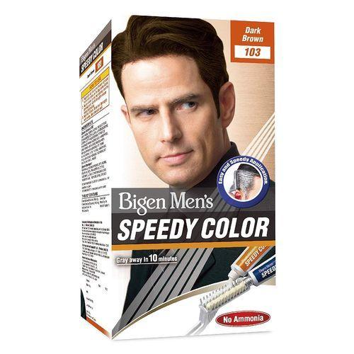 Bigen Men's Speedy Colour - Dark Brown 103