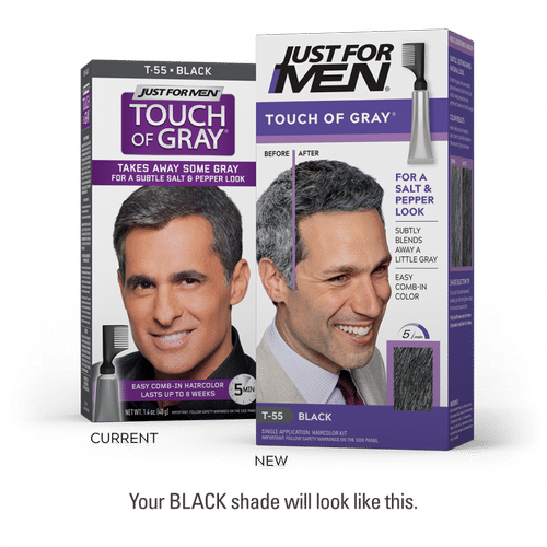 Just For Men Touch Of Grey - Black
