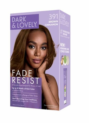 Dark and Lovely Fade Resistant Rich Conditioning Hair Color - Brown Cinnamon,391