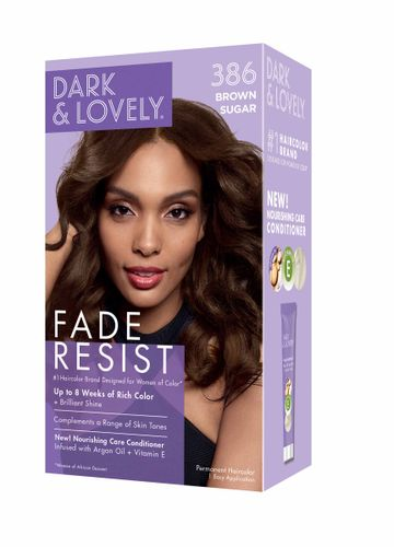 Dark and Lovely Fade Resistant Rich Conditioning Hair Color - Brown Sugar,386