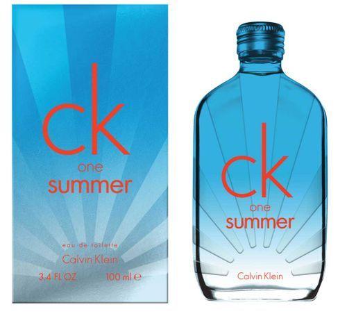 Calvin Klein CK One Summer 2017 Eau De Toilette 100ml