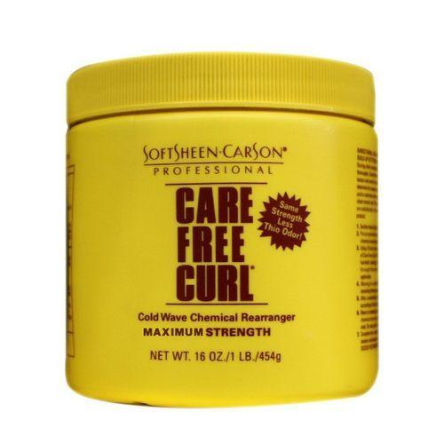 Care Free Curl Cold Wave Chemical Rearranger - 16oz,Regular
