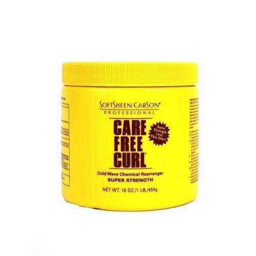 Care Free Curl Cold Wave Chemical Rearranger - 16oz,Super