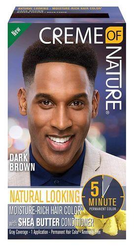 Creme Of Nature Permanent Hair Color For Men - Dark Brown