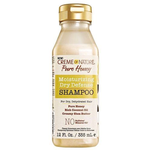 Creme Of Nature Pure Honey Moisturizing Dry Defense Shampoo - 12oz