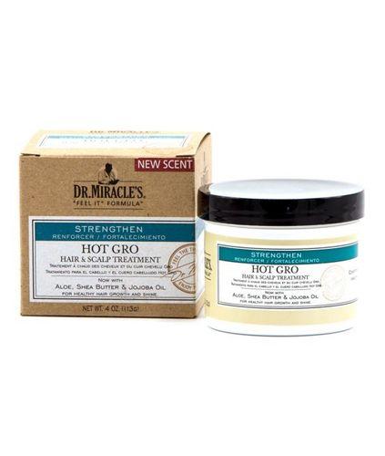 Dr. Miracle's Hot Gro Hair & Scalp Treatment 4oz - Regular