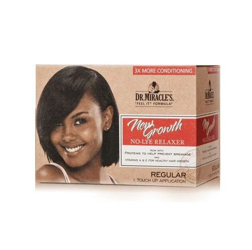 Dr. Miracle's New Growth Touch Up Application Relaxer Kit - Regular