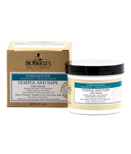 Dr. Miracle's Temple And Nape Gro Balm 4oz - Regular