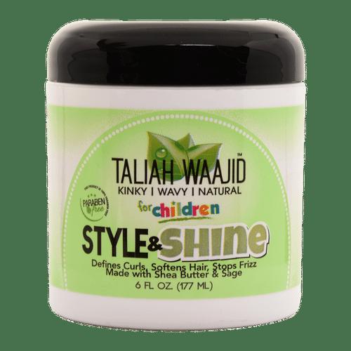 Taliah Waajid Herbal Style & Shine For Natural Hair - 6oz