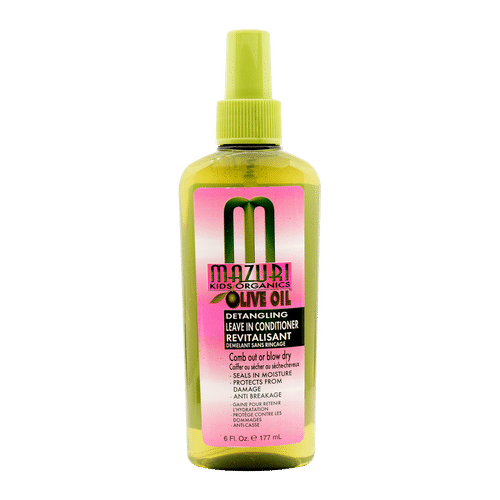 Mazuri Olive Oil Kids Detangling Leave-In Conditioner Revitalisant - 177ml