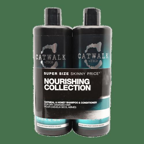 TIGI Catwalk Oatmeal & Honey Nourishing Shampoo & Conditioner - 750ml