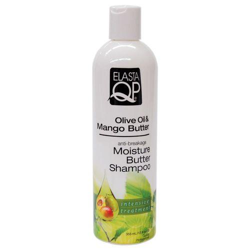Elasta QP Olive Oil & Mango Butter Moisture Shampoo - 12oz