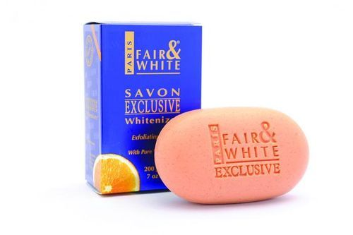 Fair & White Exclusive Whitenizer Exfoliating Soap With Vitamin C - 200g
