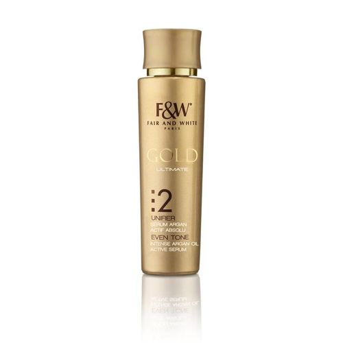 Fair & White Gold Even Tone Intense Argan Oil Active Serum - 30ml