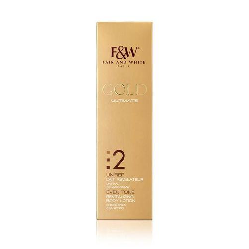 Fair & White Gold Revitalizing Body Lotion - 500ml