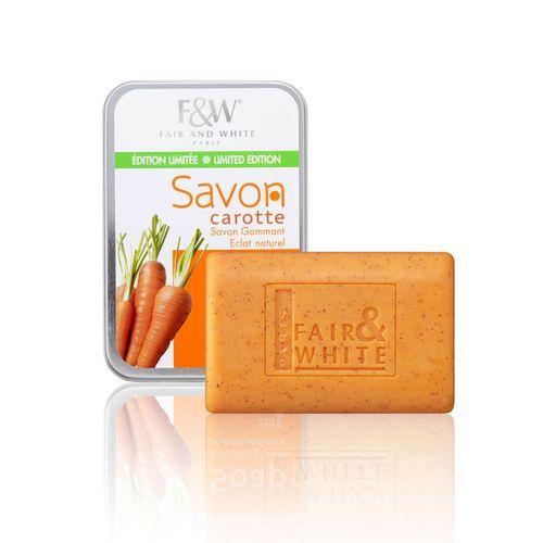 Fair & White Original Savon Carrot Exfoliating Soap - 200g