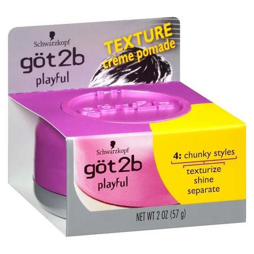 got2b Playful Texturizing Creme Pomade - 57g