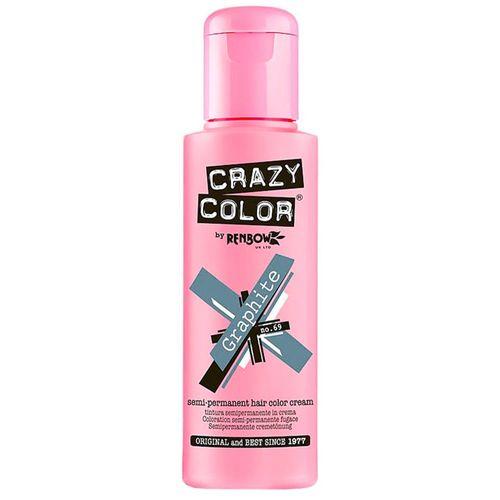 Crazy Color Semi Permanent Hair Color Cream - Graphite