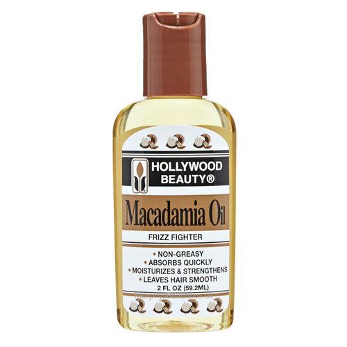 Hollywood Beauty Macadamia Oil - 2oz