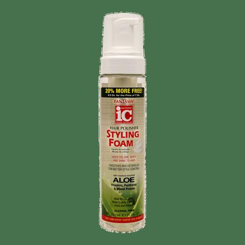 Ic Fantasia Hair Polisher Styling Foam - 8.5oz