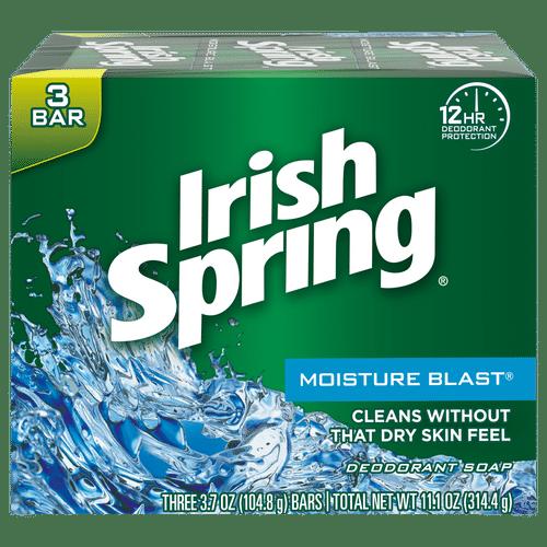 Irish Spring Moisture Blast Bar Soap - pack Of 3