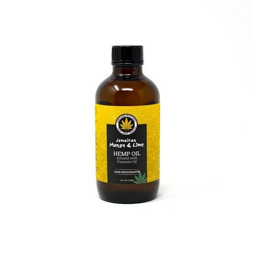 Jamaican Mango & Lime Hemp Oil Infused With Pimento Oil - 4oz