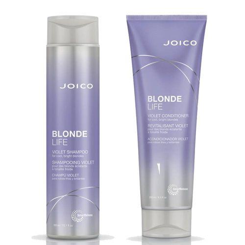 Joico Blonde Life Violet Shampoo & Conditioner - 300-250ml