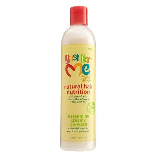 Just For Me Natural Hair Nutrition Detangling Creamy Co Wash - 12oz