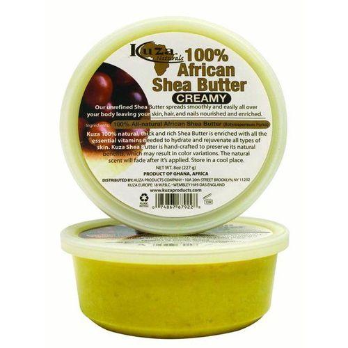 Kuza Naturals 100 African Shea Butter Yellow Creamy - 8oz