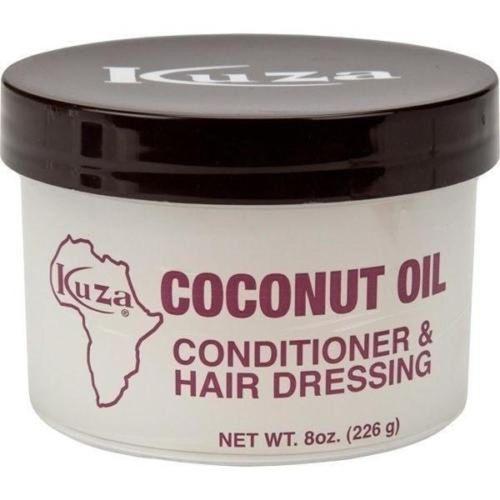 Kuza Coconut Oil Conditioner & Hair Dressing - 8oz