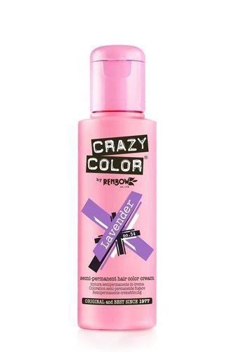 Crazy Color Semi Permanent Hair Color Cream - Lavender
