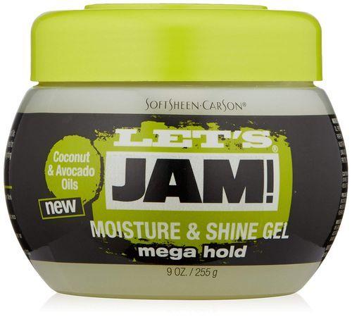 Let's Jam Moisture & Shine Gel Mega Hold - 225g