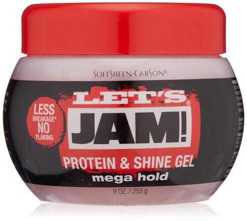 Let's Jam Protein & Shine Gel Mega Hold - 225g