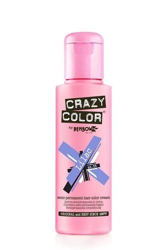 Crazy Color Semi Permanent Hair Color Cream - Lilac