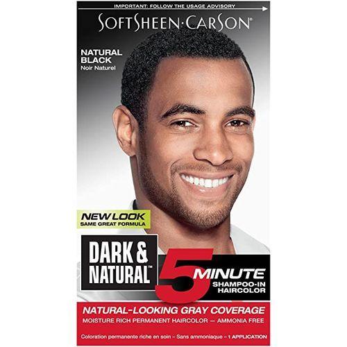 Magic Dark & Natural Permanent Men's Hair Color - Natural Black