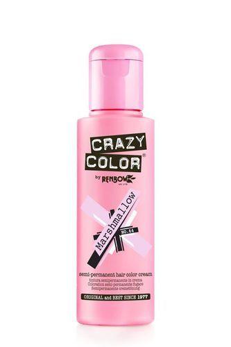 Crazy Color Semi Permanent Hair Color Cream - Marshmallow