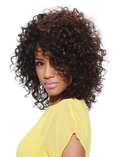 Sleek Spotlight 101 Nadida Synthetic Wig - Natural Black