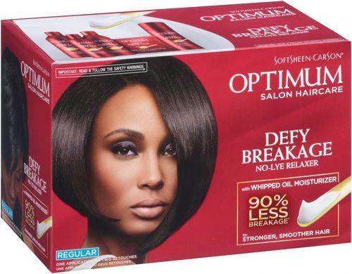 Optimum Defy Breakage No Lye Relaxer - Regular
