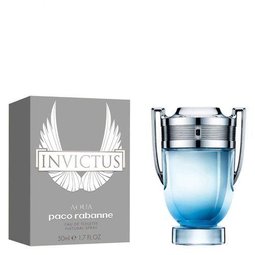 Paco Rabanne Invictus Aqua Eau De Toilette Spray - 50ml