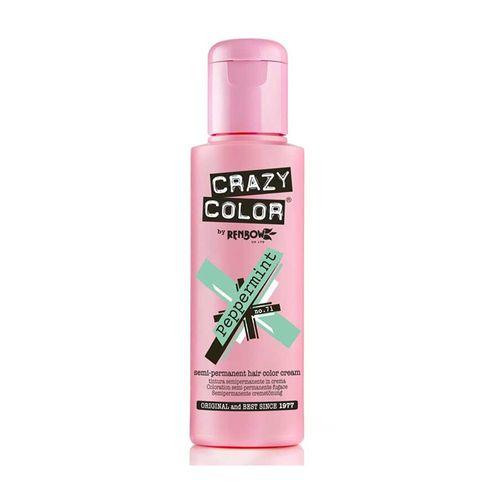 Crazy Color Semi Permanent Hair Color Cream - Peppermint